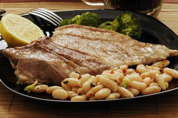 Carne y porotos