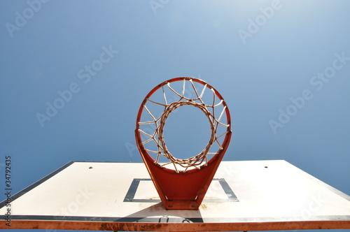 Poster Basketballkorb