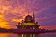 Mosque at sunrise