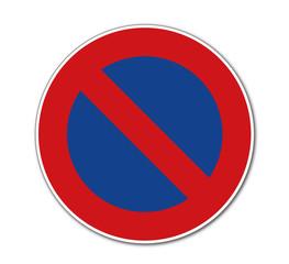 eingeschränktes Halteverbot, Verkehrszeichen