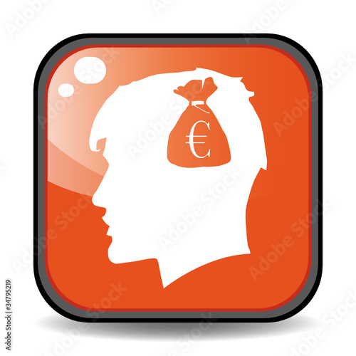 BAG EURO HEAD ICON