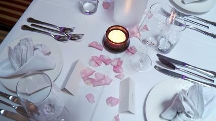 Tischdeko Restaurant