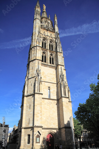 Tour Pey-Berland, belltower of Cathédrale Saint-André (11th-