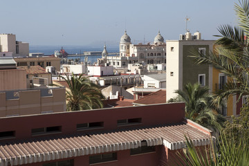 Denia alicante view from castle