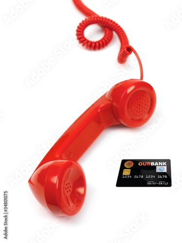 Red Phone Handset