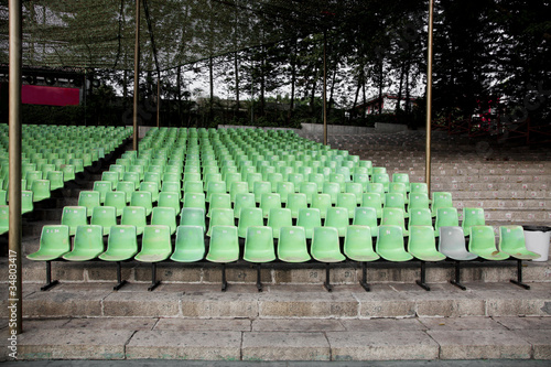 empty theater seats at china