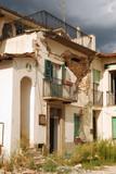 The rubble of the earthquake in Abruzzo poster