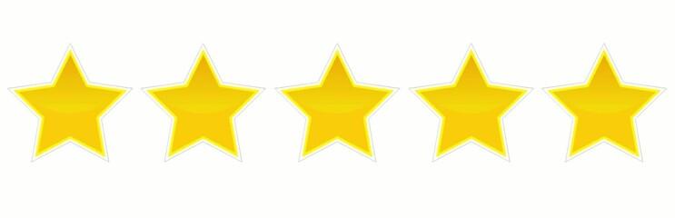 5 Sterne Bewertung