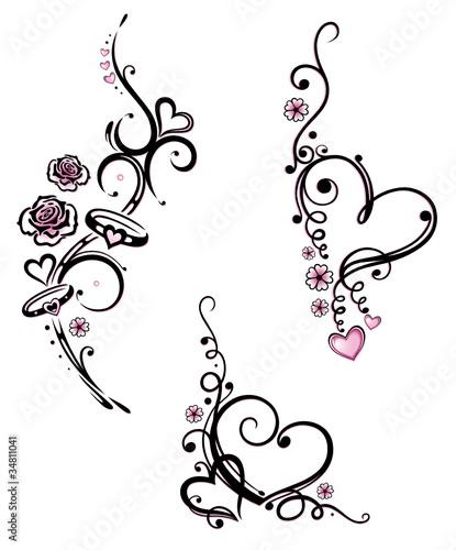 gamesageddon herz liebe love valentinstag vector set rosa lizenzfreie fotos vektoren. Black Bedroom Furniture Sets. Home Design Ideas