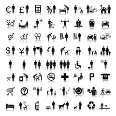 Website and Internet Icons -- People
