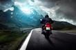 Leinwanddruck Bild - Motorrad