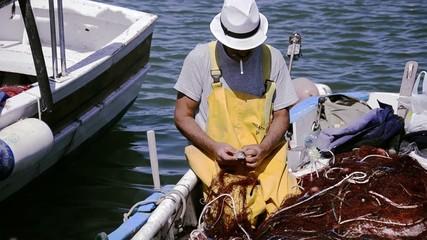 sardegna, pescatore