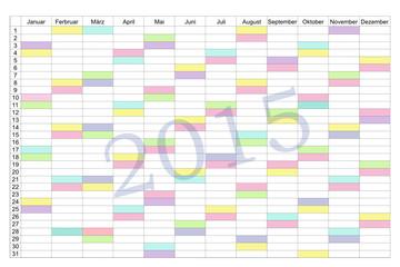 Terminplaner 2015