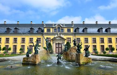 Brunnent Schloss Herrenhausen Hannover