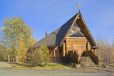 Kirche, Haines Junction, Yukon, Canada poster