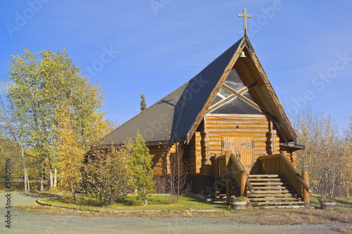 Kirche, Haines Junction, Yukon, Canada