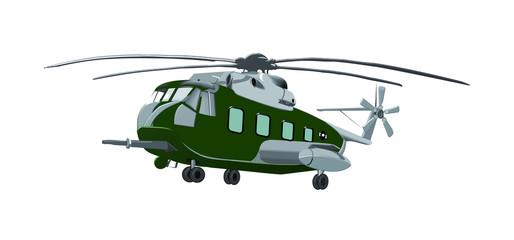 Elicottero HH-3F Pelican in volo