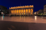 Night view of Grand Theater  Bordeaux