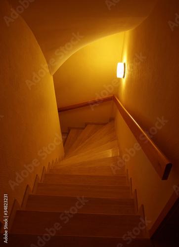 Treppenhaus-Beleuchtung