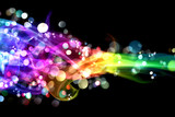 Fototapety Colorful smoke and lights