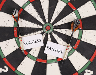 Darts with The Labels Success or Failure