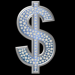 Diamant Symbol Dollar