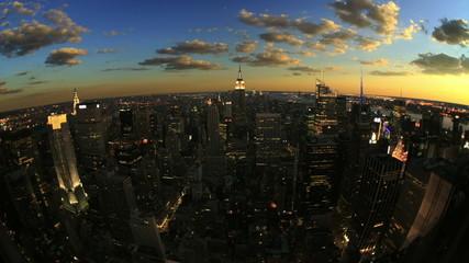 New York City Evening TImelapse