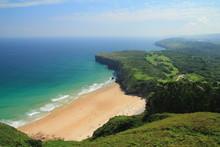 Playa de Andrin. Concejo de Llanes, Principado de Asturias.