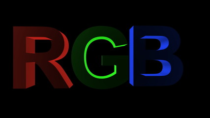 RGB - Red Green Blue