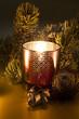 clair obscur de bougie de Noël