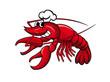 Smiling crayfish chef - 34836046