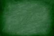 chalkboard / blackboard in green - 34836271