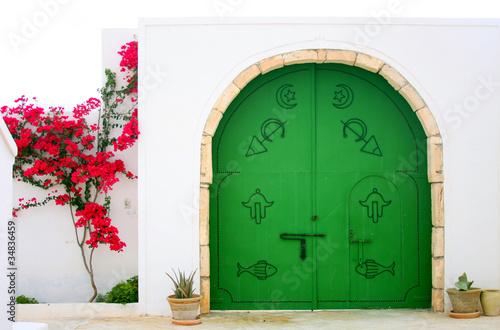 Fotobehang Tunesië Entrance