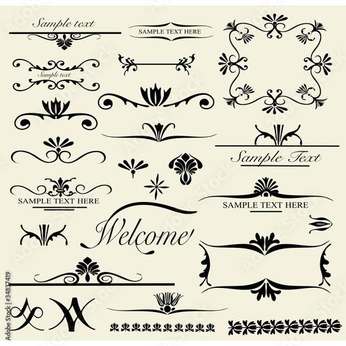 vintage design elements 2
