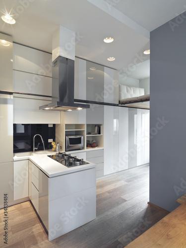 Cucina moderna con penisola immagini e fotografie for Abbonamento a cucina moderna