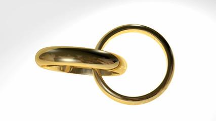 Golden rings interlocked