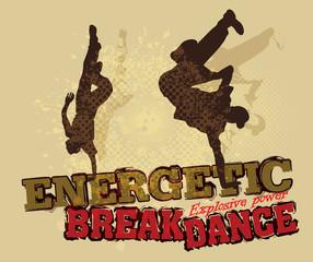Vector break dance