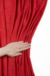 Curtain hand