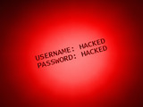 Username and Passoword: hacked poster