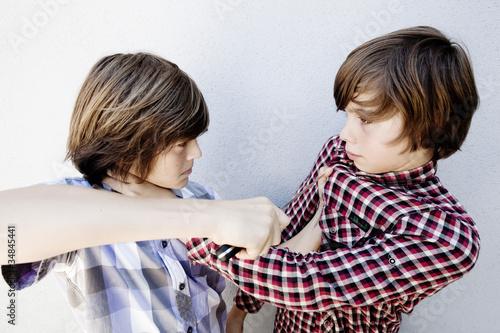 bagarre entre garçons