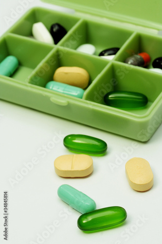 Pills box - Medical prescription