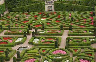 Garten von Schloss Villandry