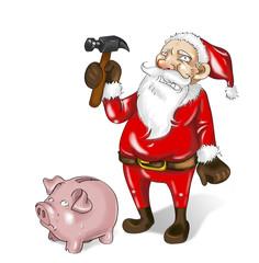 Babbo Natale al verde