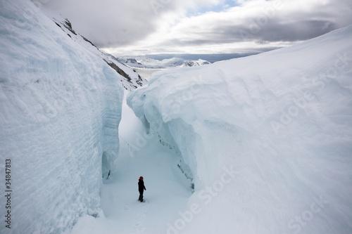 Wielka szczelina lodowcowa