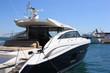 yacht mooring in marina