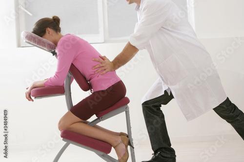 """Massage """"Amma-assis"""" dans l'entreprise"""
