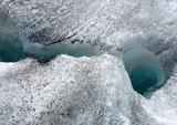 glacier...fissure poster