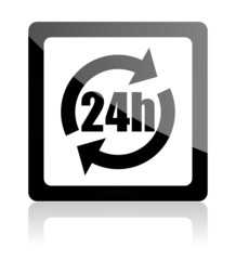 24h web button