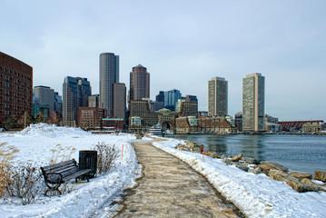 south boston in winter