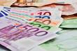 Geldscheine Euros